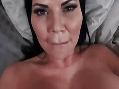Sexy Big Titty Mom Teaches Her Son How To Fuck