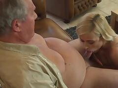 Ria seduced her neighbor and sucked his cock to make him want to fuck her brains out