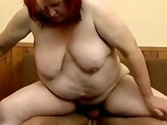 Mature With Floppy Tits Fucking Younger