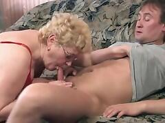 Blonde Russian 50+ doctor-2